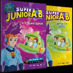 Super Junior A to B: Πακέτο Βιβλίων Μαθητή (Coursebook & Activity Book & Stickers & i-book)