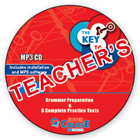 The Key to LRN C2 Grammar Preparation & 8 Complete Practice Tests: Mp3 Cd (ΠΡΟΣΟΧΗ Μόνο Ακουστικό Υλικό)