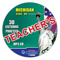 Michigan ECCE B2 30 Listening Practice Tests: Mp3 CD (ΠΡΟΣΟΧΗ Μόνο Ακουστικό Υλικό)
