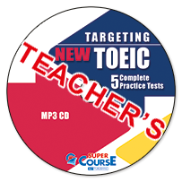 Targeting New TOEIC 5 Complete Practice Tests: Mp3 CD (ΠΡΟΣΟΧΗ Μόνο Ακουστικό Υλικό)