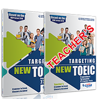 Targeting NEW TOEIC Preparation & 7 Practice Tests: Self Study Edition (Student's Book,+Teacher's Book, +Mp3)