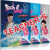Tech it easy 3: ΠΑΚΕΤΟ ΚΑΘΗΓΗΤΗ 1(Coursebook Teacher's, Activity Teacher's, Writer's Portfolio Teacher's, Mp3 Cd, Χάρτης)