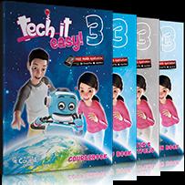 Tech it easy 3: Πακέτο 2 (Coursebook, Activity, Writer's Portofolio, i-book, Revision Book,  Audio Cd Revision Book, + Δώρο Παγκόσμιος Χάρτης με τον Ήρωα της σειράς)