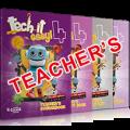 Tech It Easy 4: ΠΑΚΕΤΟ ΚΑΘΗΓΗΤΗ 2 (Coursebook Teacher's, Activity Teacher's, Writer's Portfolio Teacher's, Mp3 Cd, Revision Book Teacher's,MP3 Cd Revision)