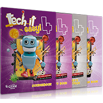 Tech it easy 4: Πακέτο 2 (Coursebook, Activity Book, Writer's Portfolio, i-book, Revision Book, Revision Mp3 CD)