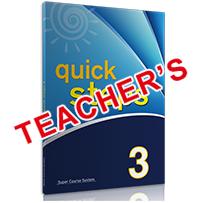 Quick Steps 3: Teacher's Book (Βιβλίο Καθηγητή)