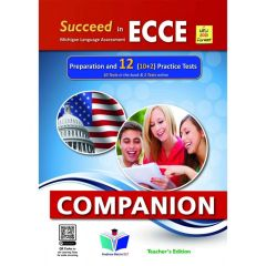Succeed In Michigan ECCE 12 Practice Tests: Teacher's Companion (Revised 2021)