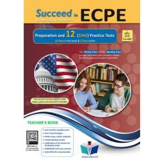 Succeed in Michigan ECPE (10+2 practice Tests): Teacher's Book (Revised 2021)