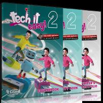 Tech it easy 2: Πακέτο βιβλίων Μαθητή (Coursebook & Activity Book & Writer's Portofolio & i-Book & Audio CD Grammar Songs)