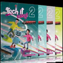 Tech it easy 2: Πακέτο βιβλίων Μαθητή (Coursebook & Activity Book & Writer's Portofolio & Revision Book & Audio CD Revision Book & i-Book & Audio CD Grammar Songs)