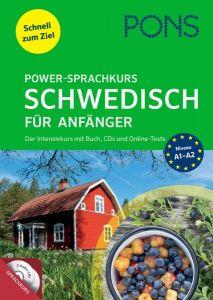 PONS Power-Sprachkurs Schwedisch fur Anfanger (Buch mit Audio Cd's mit Online Test)