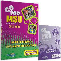 Go for MSU B2: Student's book + 3 Extra Complete Practise Test (Βιβλία Μαθητή)