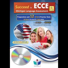 Succeed in Michigan ECCE 12 Practice Tests: MP3 CD (ΠΡΟΣΟΧΗ Μόνο Ακουστικό Υλικό) (Revised 2021)